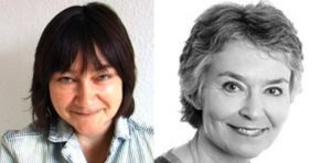 Ali Smith og Merete Alfsen