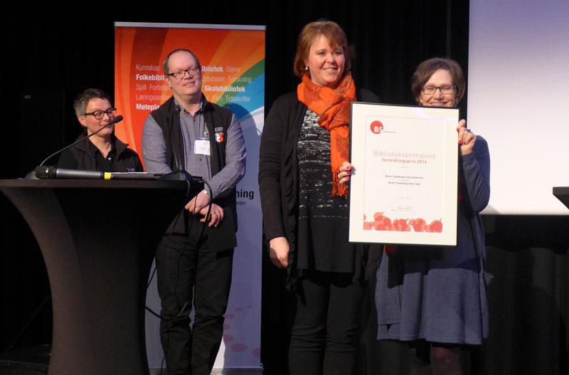 Kristin Storvig, Morten Olsen Haugen, Hege Nordheim Viken og Laila Stien. (Foto: Anna Kathinka Dalland Evans)