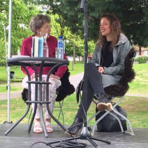 Rebecca Dinerstein i samtale med Ingrid Haug