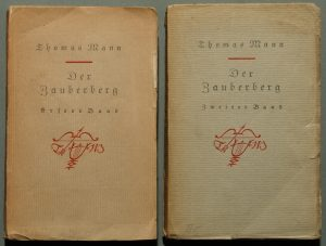 Der Zauberberg, 1924. Bokomslag.