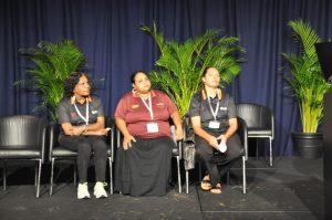 Representanter for Aboriginal Interpreter Service. Foto.