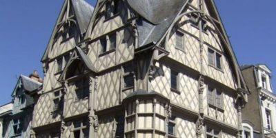Hus i Angers.foto