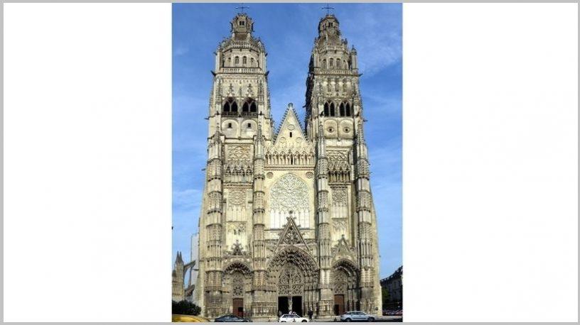 la Cathédrale Saint-Gatien.foto