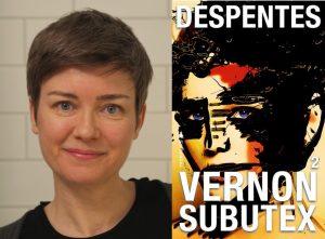 """Foto av Gøril Eldøen og omslag for """"Vernon Subutex"""""""
