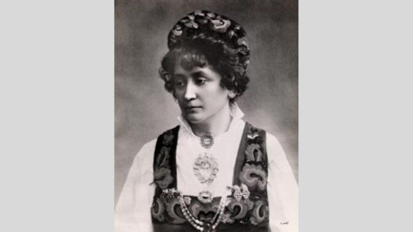 Hulda Garborg.foto