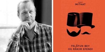Gunvald Ims og bokomslag. to foto