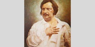 Honoré de Balzac. maleri