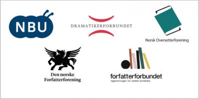 Logoene til de fem organisasjonene