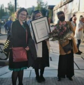 Janicken von der Fehr, Runhild Skjølaas og Ika Kaminka