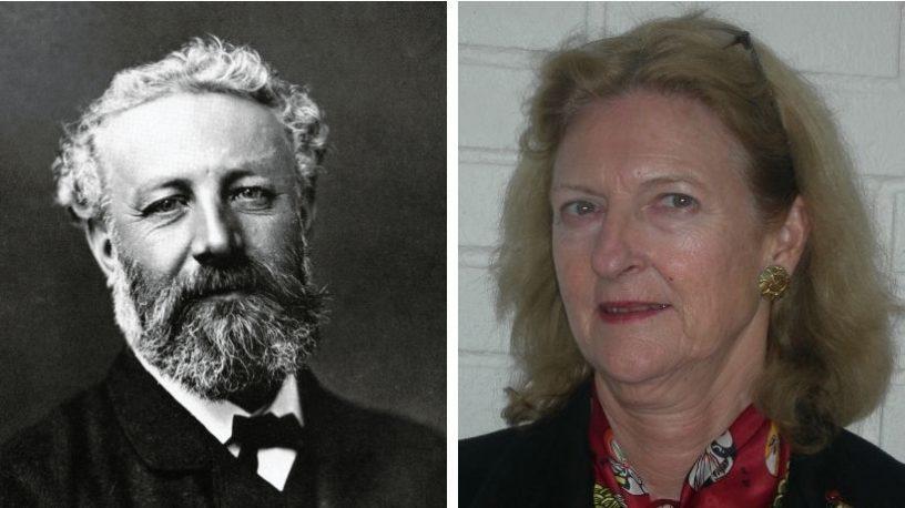 Jules Verne og Bente Christensen. foto